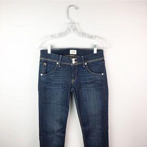 Hudson skinny jeans dark wash collin size 27